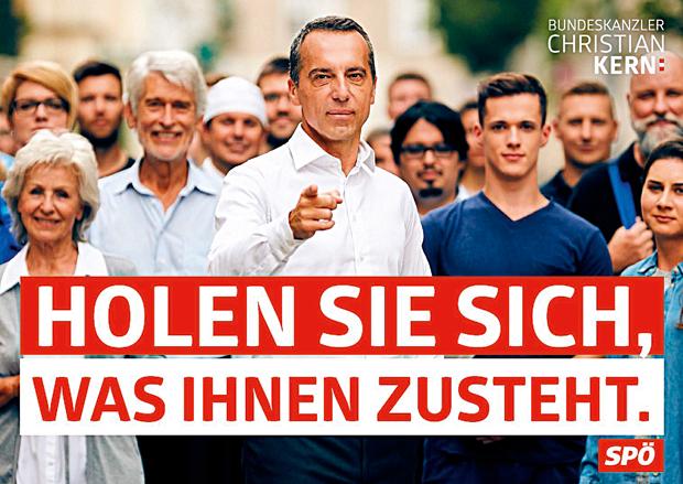 SPÖ Campaign